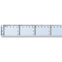 Lat Transparant 50cm