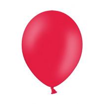 Ballon Pastel 27cm Rood 50 Stuks