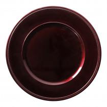 Decobord Bordeaux 33cm Diameter Glitter Spray