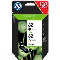 HP Inktcartridge 62 Zwart+Tricolor