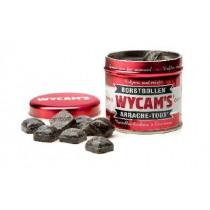 Blikje Bonbons 59mm Wycam's Rood 71mm Diameter Cough Drops