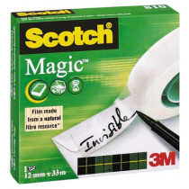 Tape 33m x 12mm Scotch Magic