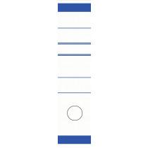 Rugetiketten 6,5x29cm Blauw 10 Stuks
