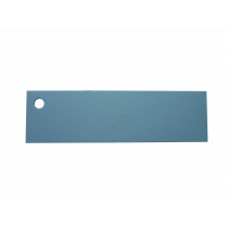Naamkaartje 7X2Cm Lichtblauw 50 Stuks