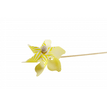 Windmolen 23cm Geel 9cm Diameter
