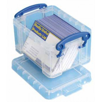 REALLY USEFUL BOX 0,3l TRANSPARANT
