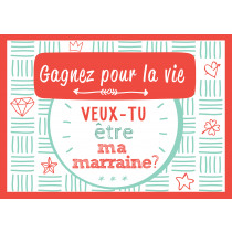 Scratchcard Lucky Veux Tu Être Ma Marraine?