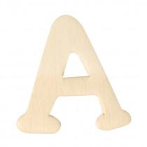 Houten Letter A 4cm