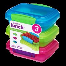 Trends Lunch Set Voorraaddoosjes 200ml 3 Stuks