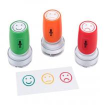 Stempels Emoticons 3 Stuks