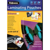 Lamineeretuis Fellowes 80µ A3 Glanzend 100St