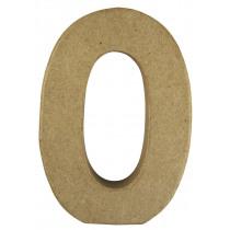 Letter Papiermache O 10,5x3x15cm