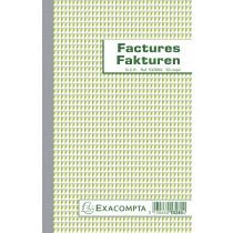Factuurboek Exacompta A5 2X50 Tweetalig