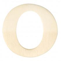 Houten Letter O 4cm