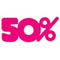 Signalisatie Roze  50%