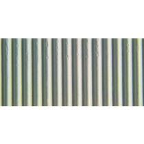 Ribkarton 50x70cm Zilver