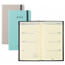 Brepols Agenda 6-Langues 7J/2P 9x16cm Interplan Soft