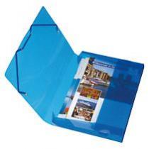 Documentbox Herlitz Blauw A4 4cm Rug