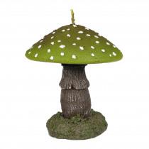 Kaars Paddenstoel 11cm Groen