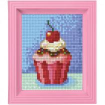 Pixelhobby Geschenkset Pixel Cupcake