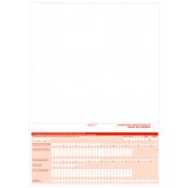 Overschrijvingsformulier A4 Sepa NL-FR 500 Vellen