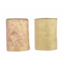 Lint Met Draad 2,7mx12,8cm Goud Hulst