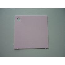 Naamkaartje 4X4Cm Roze 50 Stuks