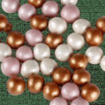 Chocochoops 125g Wit/Lichtroze/Koper