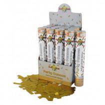 Confetti Popper 30cm Goud Foil Strips