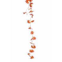 Slinger Esdoornbladeren 240cm Oranje
