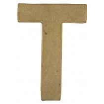 Letter Papiermache T 10,5x3x15cm