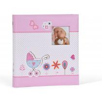Henzo Fotoalbum Baby Moments 280X305Mm Roze