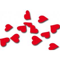 Confetti Papier Rood 250g Harten