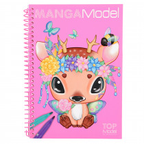 Mangamodel Pocket Kleurboek