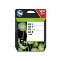 HP Inktcartridge 364 Combo Zwart+Tricolor