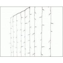 Verlichting Koel Wit 2,25x1,5m Gordijn 16x15 Lampjes