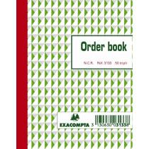 Orderbooks Ncr 135X105Mm Exacompta 3133 Tripli3X50 Gelijnd