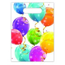 Verjaardagszakjes Sparkling Balloons 6 Stuks