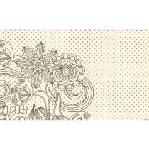 FIESTA placemats dessin 30x43cm 100 stuks