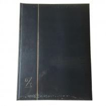 Postzegelalbum 23x30,5cm A4 60Blz Wit Gewatteerd