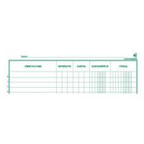 Register Exacompta Inventarisboek