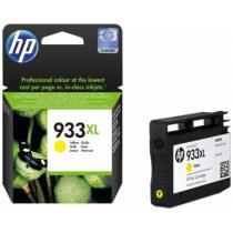 HP Inktcartridge 933XL Geel