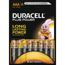 Duracell Plus Power AAA/LR03 8 Stuks