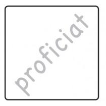 Wensetiket Proficiat 30x30mm NL Wit/Zilver 500 Stuks