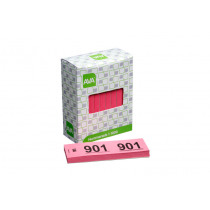Nummerbloc Roze 1000 Nrs