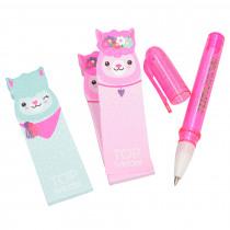 Topmodel Alpaca Memo's + Pen