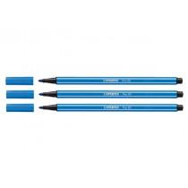 Stabilo Pen 68 Donkerblauw