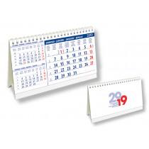 Bureaukalender 16x21cm 3-Maand
