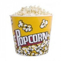 Popcornbeker 960cc 25 Stuks