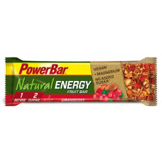 PowerBar Natural Energy Fruit & Nut Bar Cranberry 40 g Reep
